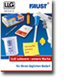 Frontseite LLG Labware Katalog - Faust