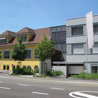 Faust Laborbedarf AG - Firmengebäude und Lager