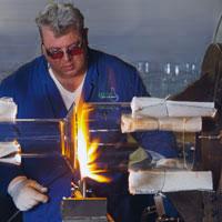 Herstellung individueller Glasteile nach Mass