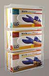 LLG Handschuhspender Acrylglas für 3 Boxen
